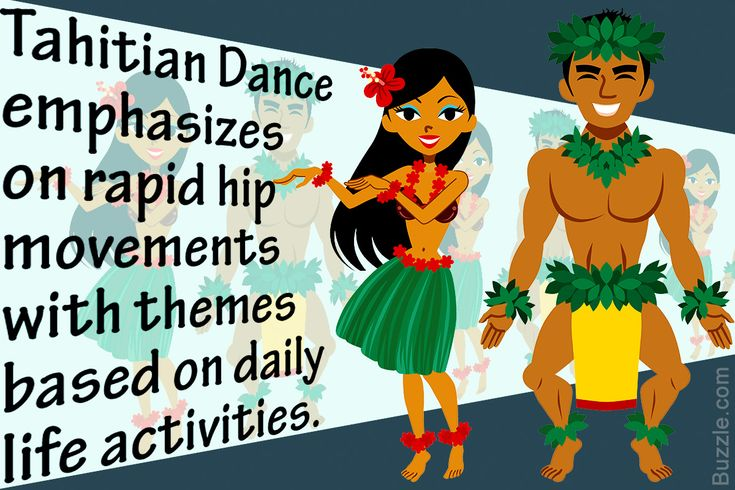 For Tahitians, dancing is a symbolic representation of their cultural tradition. They narrate a story through their dance with elegant moves. Buzzle further, pour obtenir connaître certains faits (to get to know some facts) about Tahitian dance which is simply fascinating.