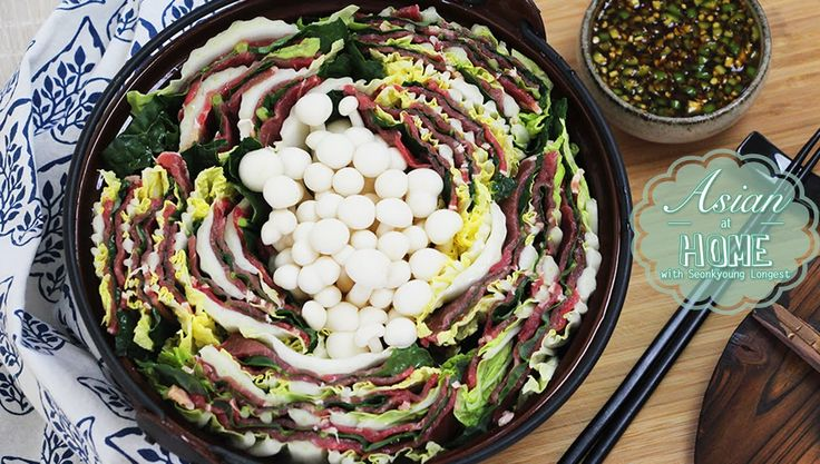 Mille-Feuille Nabe :  A Thousand Leaves Hot Pot : 밀푀유나베 만들기