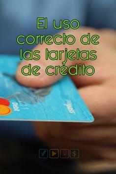 Cómo usar las tarjetas de crédito? Acá una idea...