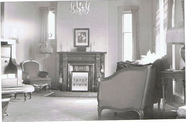 Living Room 1930s living room at 280 dufferin ave., london, ontario, canada 1930's