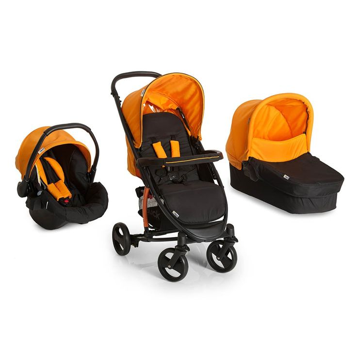 The Hauck Miami 4S is a super-convenient modular Travel System ideal for any terrain that is suitable from birth. Buy yours in Caviar/Orange here now!