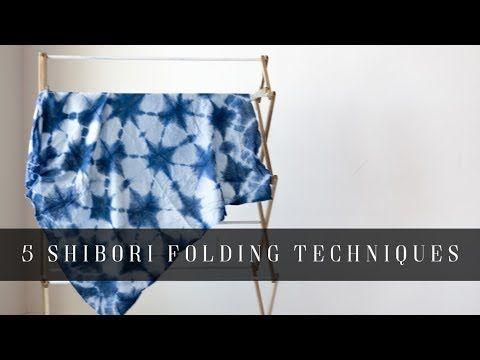 Meine 5 Lieblings-Shibori-Falten