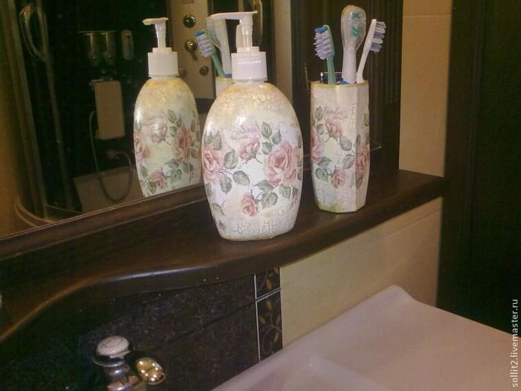 Зачем покупать дорогие наборы для ванны если его можно сделать самой… И ни у кого такого не будет! — В Курсе Жизни