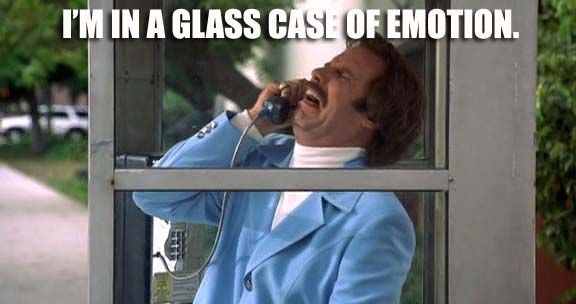 Anchorman  - 50 of the funniest movie quotes ever http://www.nextmovie.com/blog/funny-movie-quotes/