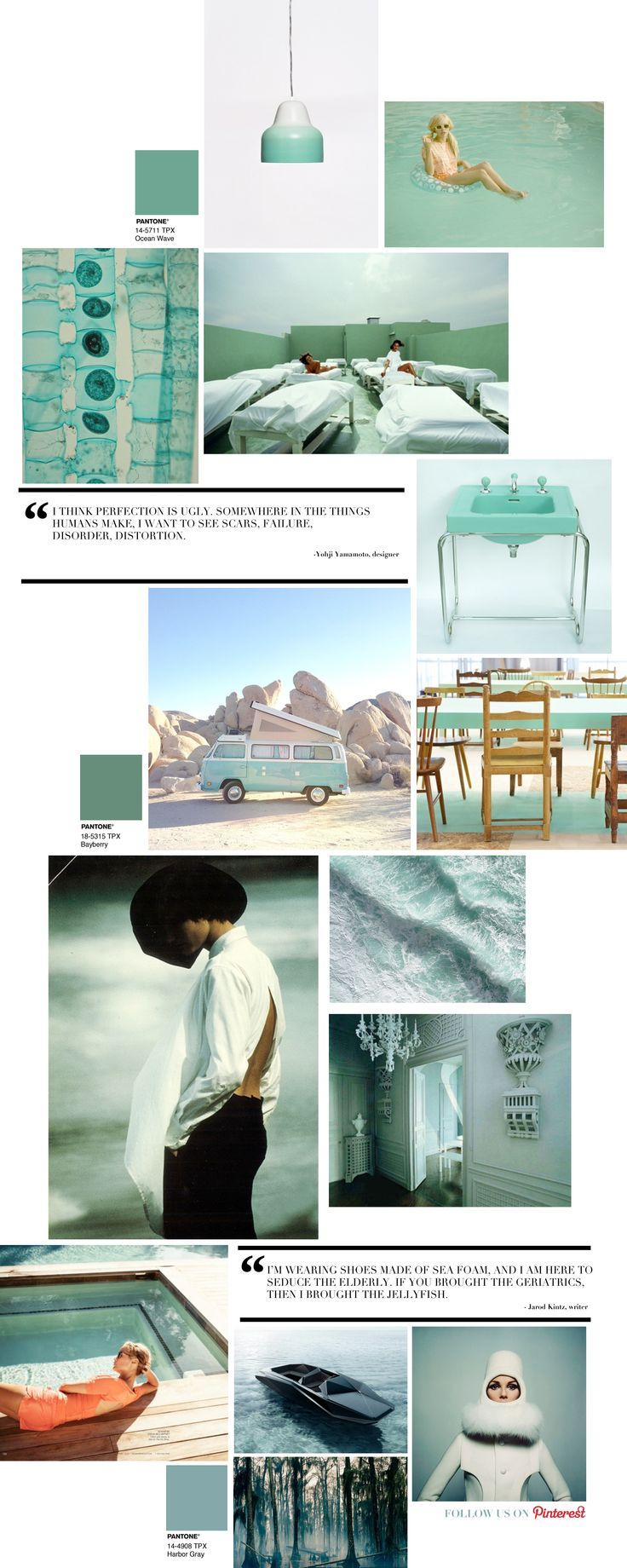 Curating the Curated: Seafoam   Trendland