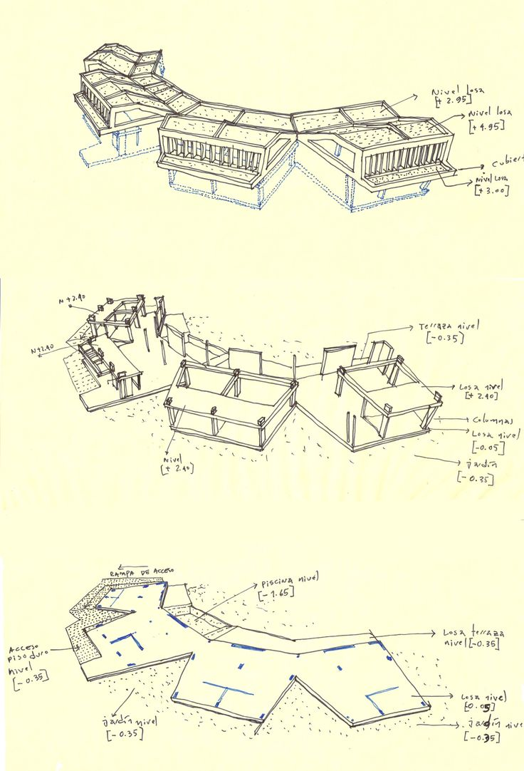 132 best proyecci n y dibujo images on pinterest architectural drawings architecture drawings. Black Bedroom Furniture Sets. Home Design Ideas