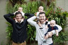 Dia dos Pais:  Pai em dose dupla  O Dia é deles - Casais homoafetivos contam as dores e delícias da paternidade