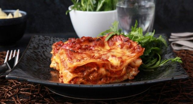 No one will know this delicious lasagne is actually chock-full of lentils!