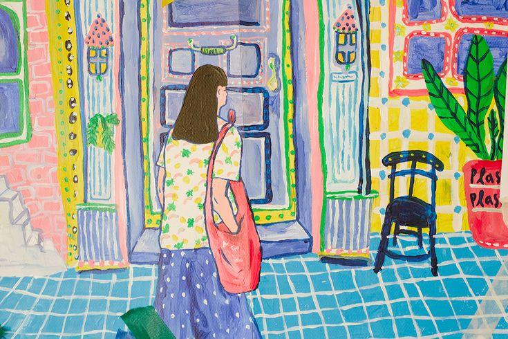 House Of Inspire With Juli Baker And Summer ภาพประกอบศ ลปะ ศ ลปะน าร ก ภาพประกอบ