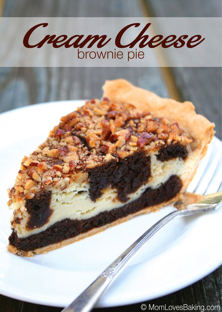 Cream Cheese Brownie Pie won the 39th Pillsbury Bake-Off in 2000. Recipe on Pillsbury.com by Roberta Sonefeld of Hopkins, South Carolina. This reminds me of a dessert I would get at a fancy restaurant but you never have to leave your house to enjoy this scrumptious treat. Start by beating the cream cheese layer ingredients..