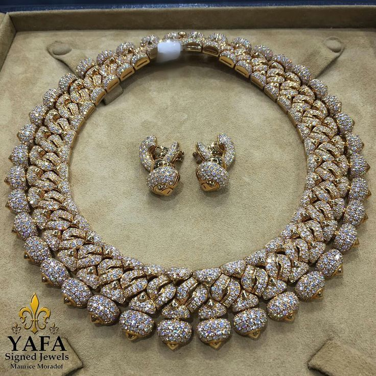 @yafasignedjewels. The #Bulgari set has graced the #RedCarpet ... it lifts any look into the sublime! Call us for details.