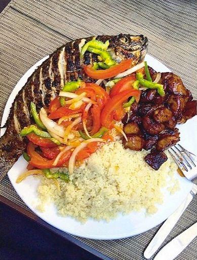 """Made in Côte d'Ivoire ! """"attiéké poisson aloco #africa #abidjan #Ivoire #cuisineafro"""