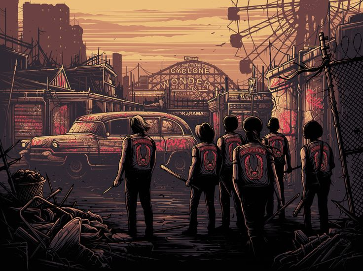 The Warriors Classic Movie Poster Collection - Created by Dan Mumford
