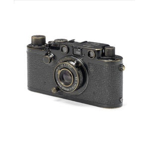 A Leica IIIc Black Swedish army with 5cm lens