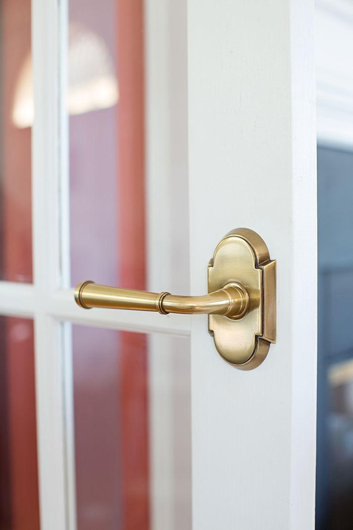 Emtek Merrimack Lever and #8 rosette. One Room Challenge Week Six Sunroom & 94 best Door Knob Inspiration images on Pinterest | Door handles ...