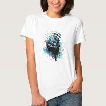 Frigate Ship Sketch2 T-shirt