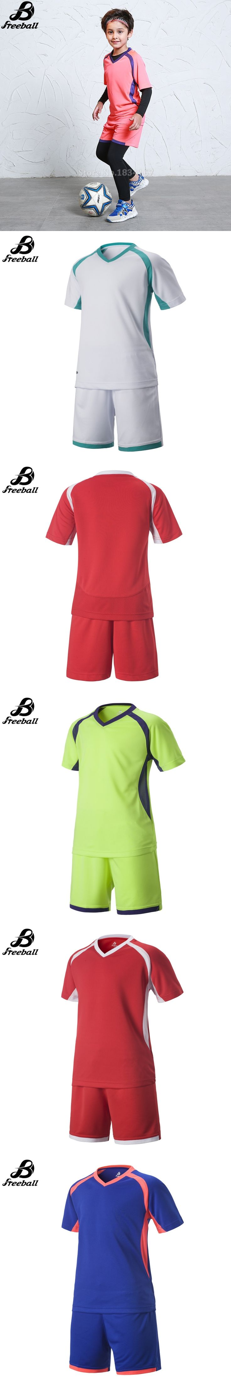 2016/17 boys football uniforms thai quality soccer jerseys for kids soccer sets kits survetement football 2017 kids new arrival