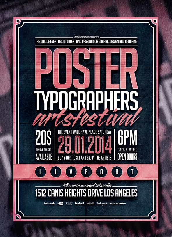 Best Flyer  Poster Templates Images On   Poster