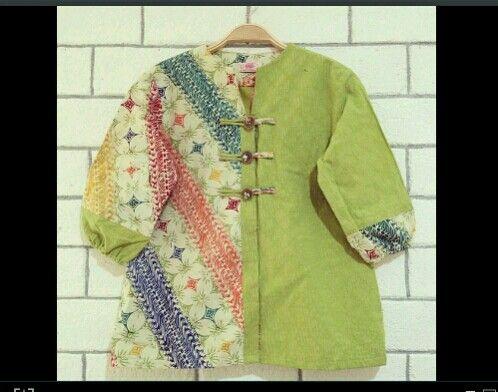 Instagram : nonararabatik  Blouse batik tops