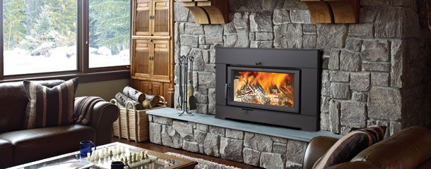 Fireplace Inserts Wood Burning - Regency Fireplace Products