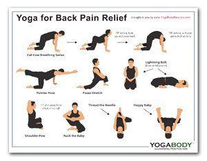 yoga for back pain relief  medicine cabinet  pinterest