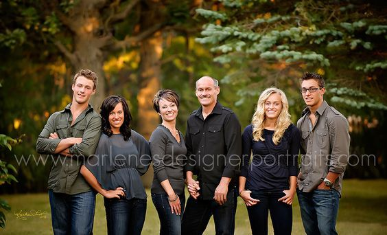family pictures with adult children - Google Search