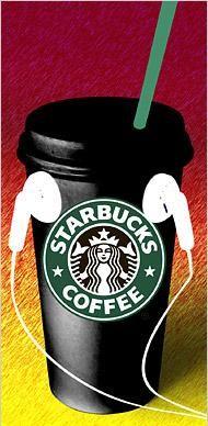 Starbucks music #musica #cafe #coffee #estilodevida #lifestyle #freedom #fun delicioso cafe con buena musica