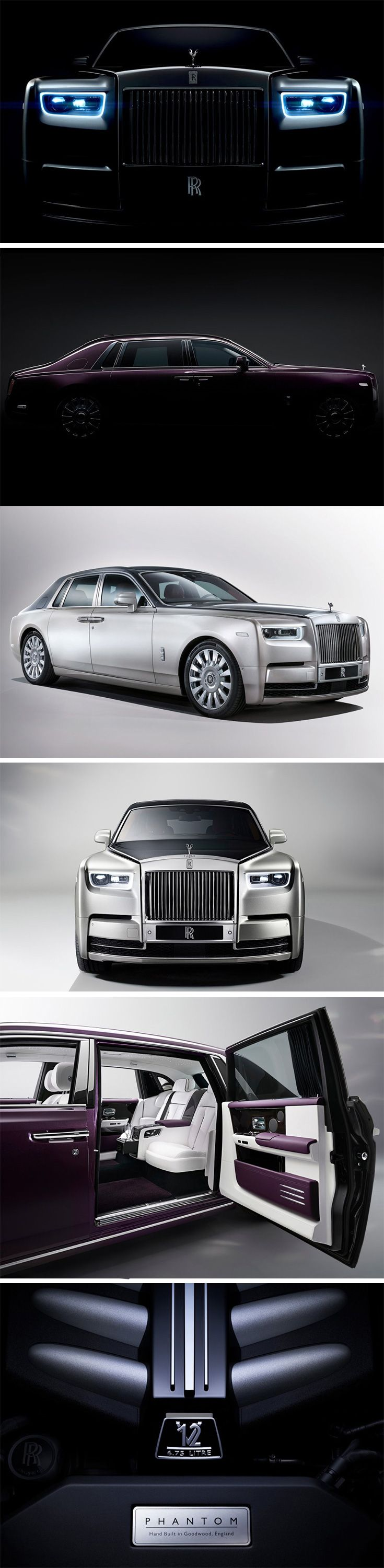 Ninety two years since it was first announced, the Rolls-Royce Phantom is the world's longest-lived model name in automotive history. Fourteen years since its last edition back in 2003, we finally now get a look at the Phantom VIII that launches in 2018. The car rests on a new aluminum space-frame that will now become a standard for all Rolls-Royce cars moving forward.