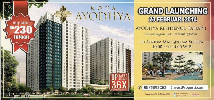 Brochure Kota Ayodhya Tangerang