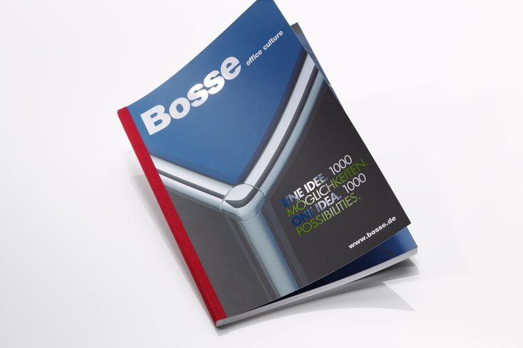 BOSSE // PRODUCT CATALOGUE »OFFICE CULTURE« – printed on heaven 42 soft matt absolute white, 170 + 300 gsm