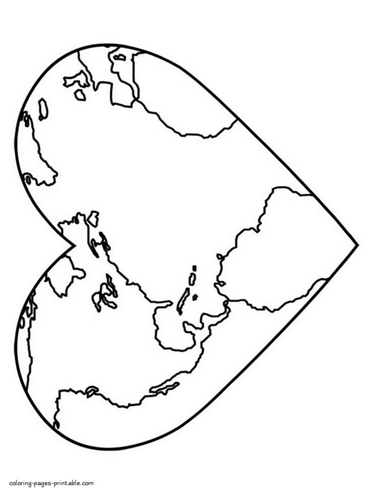 The 25+ best World map coloring page ideas on Pinterest