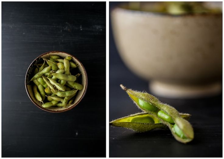 Whole Roasted Edamame with Sea Salt and Olive Oil by Erin of Naturally Ella