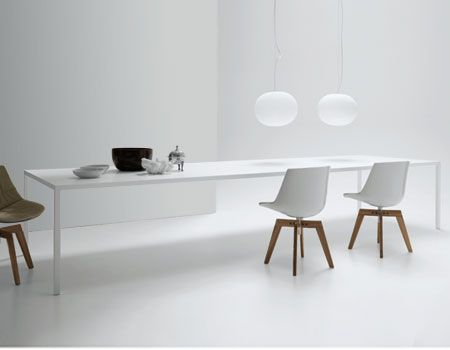 :: FURNITURE :: one of my favourite lines of furniture comes from MDF ITALIA, love this modular shelving series ... absolutely stunning for any interior #furniture #white