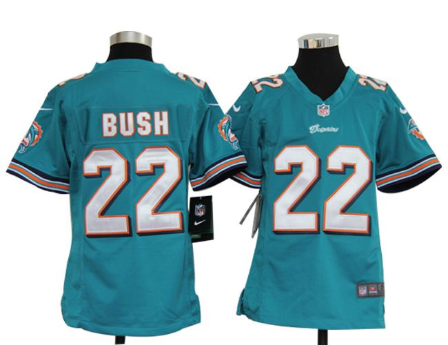 Discount youth 2012 new nfl jerseys miami dolphins 22 reggie bush white jerseys  for cheap