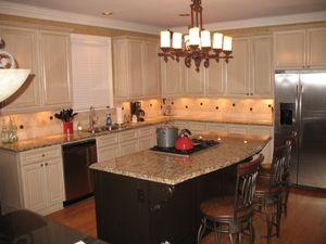 New Venetian Gold Granite Countertops Kitchens