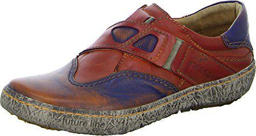 Kacper Slipper 2-3835 Damenschuh Lederslipper Freizeit Leder Gummiband Farbe Orange/Blue/Beige - http://on-line-kaufen.de/kacper/kacper-slipper-2-3835-damenschuh-lederslipper