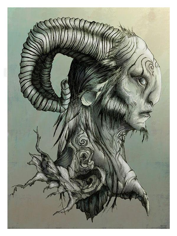 Pan's Labyrinth Poster Illustration on Behance