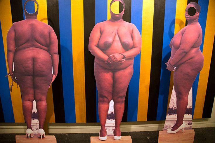 Nona Faustine  Why This Artist Let Her Nude Body Tell The Story of Slave Trading in New York City