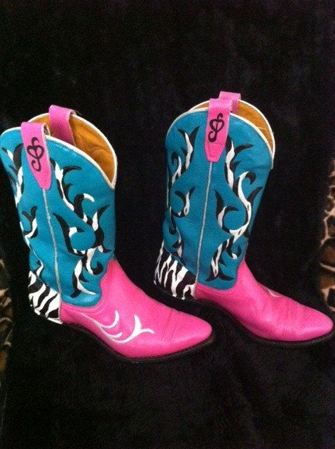 painted cowboy boots - Google Search