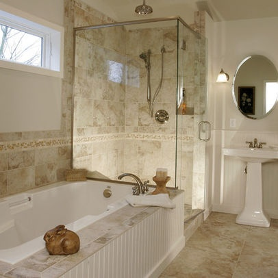 Good Cultured Marble Tub Deck Design Ideas, Pictures, Remodel, And Decor Images