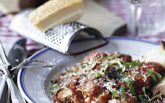 Cannelloni med ricotta och karljohansvamp from recept.se