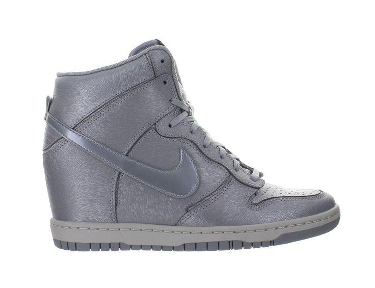 Nike Wmns Dunk Sky Hi Cut Out Prm Damenschuhe Grau/Silber (644411-001) Größe 40.5: Amazon.de: Schuhe & Handtaschen