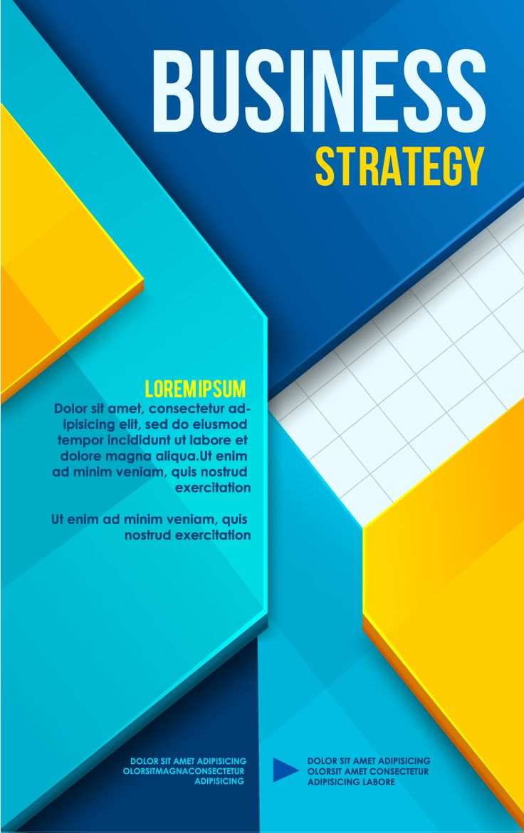 Business Poster Cover Design Vector | Free Vector Graphic Download