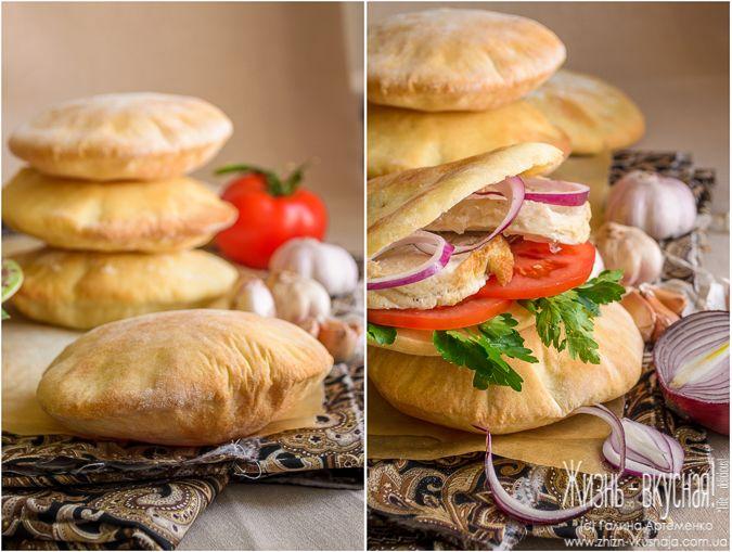 пита хлеб рецепт, пита лепешки рецепт с фото, лепешки полые внутри рецепт