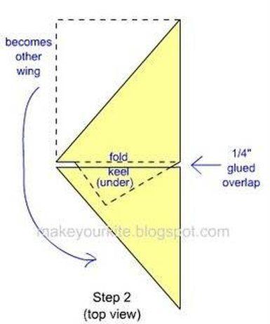 Como fazer uma pipa asa delta em casa