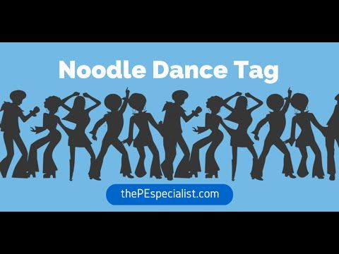 Physical Education Game - Noodle Dance Tag