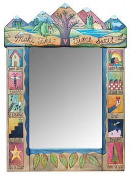 Sticks Medium Mirror 1241 by Sticks | Sticks Furniture, Home Decorative Accents