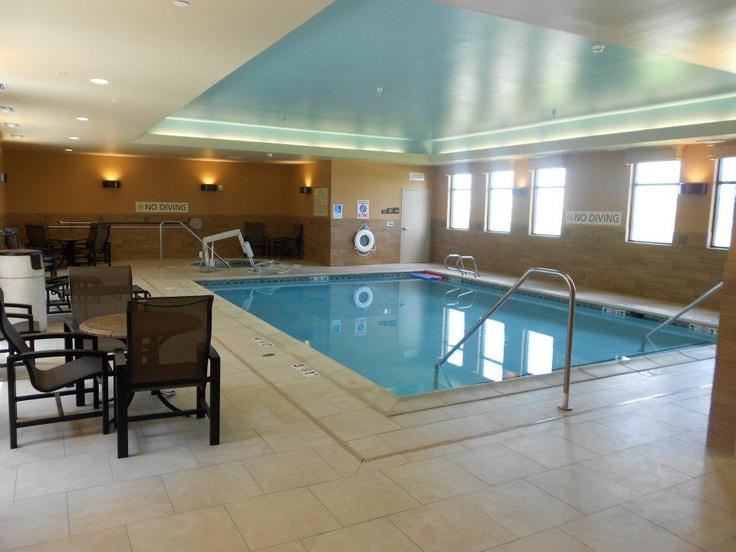 Come come!! Swim in this wonderful Sea Salt Water pool! At the Hampton Inn & Suites in Dodge City, Ks
