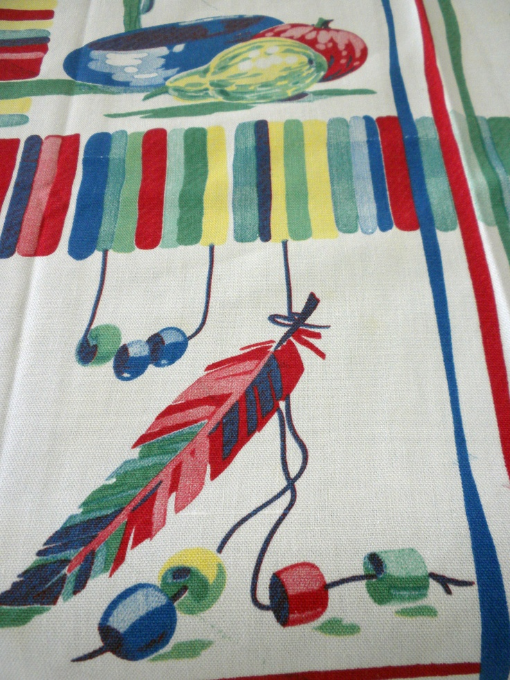 Vintage Wilendur tablecloth