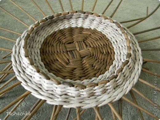 tető небольшой МК по плетению ажурной крышки. фото 4